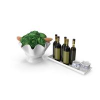 Kitchen Decor Set PNG & PSD Images