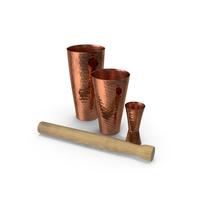 Cocktail Shaker Set PNG & PSD Images