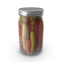 Pickled Carrots PNG & PSD Images