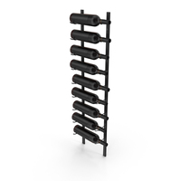 Wall Wine Rack PNG & PSD Images