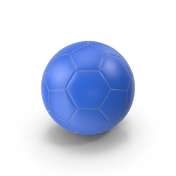 Blue Soccer Ball PNG & PSD Images