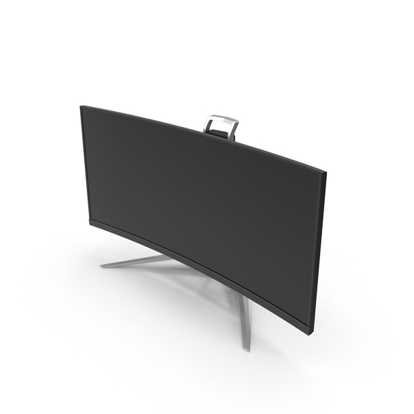 UltraWide QHD Monitor PNG & PSD Images