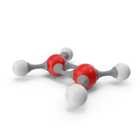 Ethylene Molecular Model PNG & PSD Images