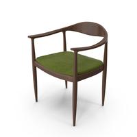 Scandinavian  Wooden Armchair PNG & PSD Images