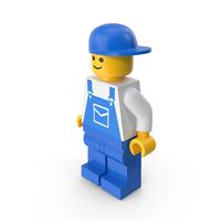 Lego Man Mechanic PNG & PSD Images