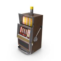 Classic Slot Machine PNG & PSD Images