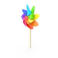 Colorful Pinwheel PNG & PSD Images
