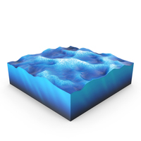 Water Cross Section PNG & PSD Images