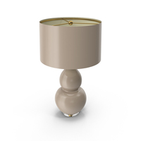 Pop Color Modern Table Lamp Taupe PNG & PSD Images