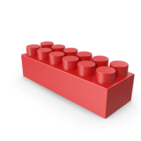 Red Building Block PNG & PSD Images
