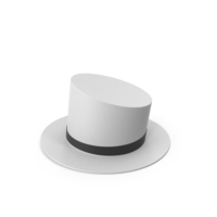 White Top Hat PNG & PSD Images