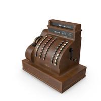 Vintage Cash Register PNG & PSD Images