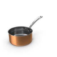 Copper Sauce Pan PNG & PSD Images