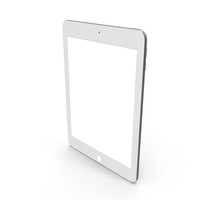 9.7-inch Tablet Computer Silver PNG & PSD Images