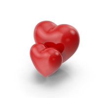 Two Hearts PNG & PSD Images