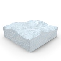 Snow Cross Section PNG & PSD Images