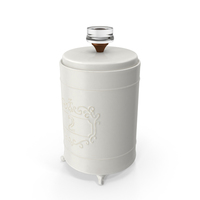 Classical Kitchen Storage Jar PNG & PSD Images
