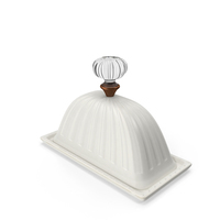Classical Butter Dish PNG & PSD Images