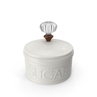 Classical Sugar Bowl PNG & PSD Images
