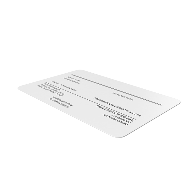 Medical Insurance Card PNG & PSD Images