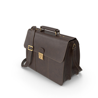 Visconti Apollo Oil Tanned Leather Briefcase PNG & PSD Images
