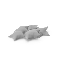 Star Pillows PNG & PSD Images