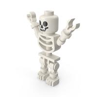 Lego Skeleton Greeting PNG & PSD Images