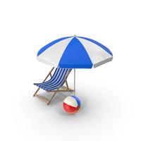 Summer Set PNG & PSD Images