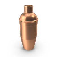 Cocktail Shaker Copper PNG & PSD Images