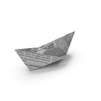 Paper Ship PNG & PSD Images