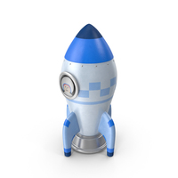 Toon Rocket PNG & PSD Images