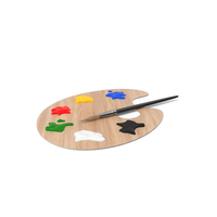 Painting Palette PNG & PSD Images