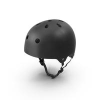 Black Skateboard Helmet PNG & PSD Images