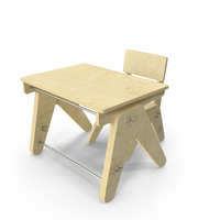 Child Table and Chair PNG & PSD Images