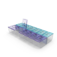 Weekly Pill Organizer PNG & PSD Images