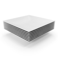 Stack of Square Bowls PNG & PSD Images