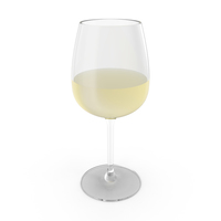 White Wine Glass PNG & PSD Images