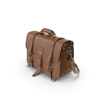 Brown Saddleback Leather Classic Leather Briefcase PNG & PSD Images