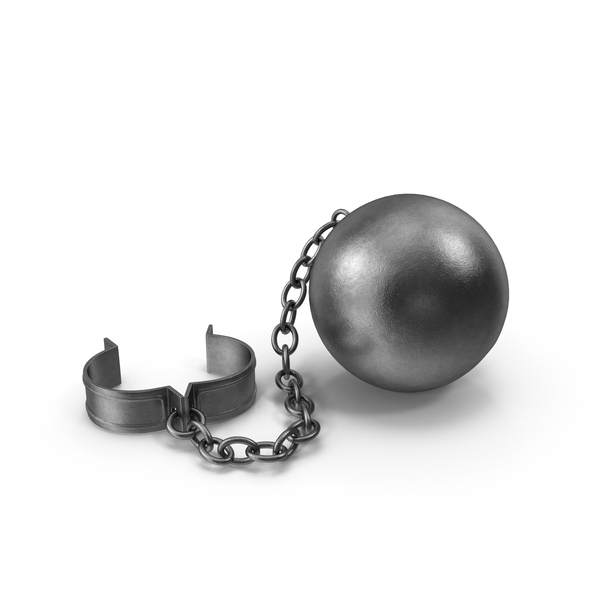 Ball and Chain PNG & PSD Images