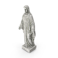 Jesus Christ Stone Statue PNG & PSD Images