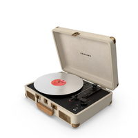 Retro Player Crosley PNG & PSD Images