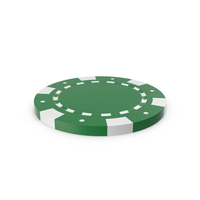 Poker Chip Green PNG & PSD Images