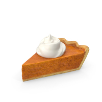 Pumpkin Pie Slice PNG & PSD Images