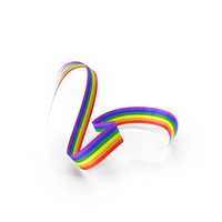 Abstract Rainbow Tape PNG & PSD Images