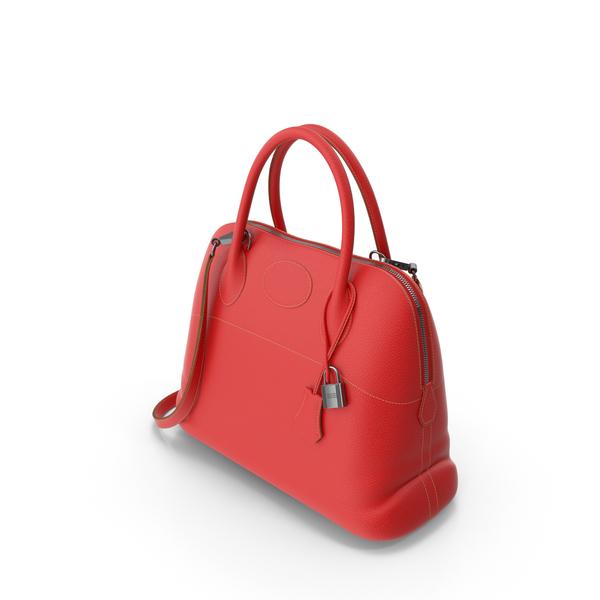 Women's Red Shoulder Bag PNG & PSD Images