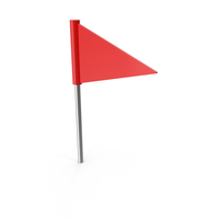 Pushpin Flag PNG & PSD Images