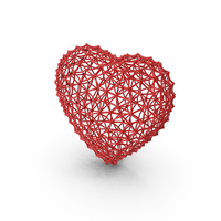 Webbed Heart PNG & PSD Images