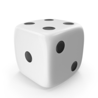 White Die PNG & PSD Images