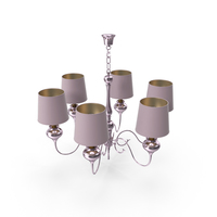 Pink Chandelier PNG & PSD Images