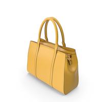 Yellow Women's Handbag PNG & PSD Images